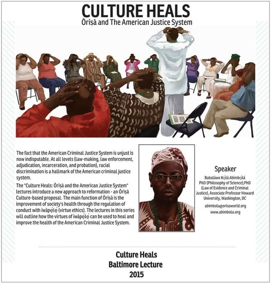 2015 Culture Heals Lecture