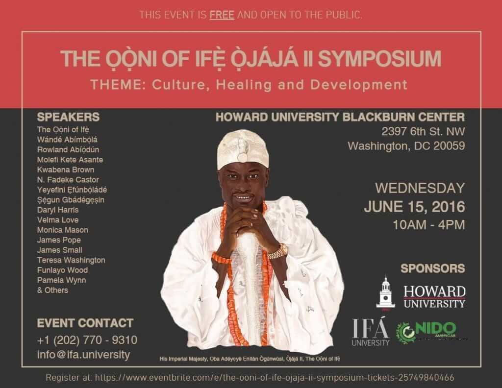 2016 Ooni Howard Symposium