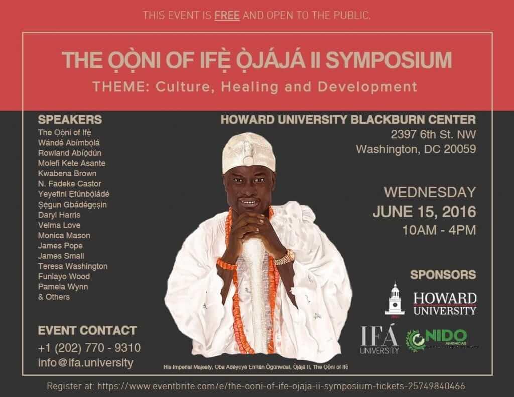 2016 Ooni Howard Symposium