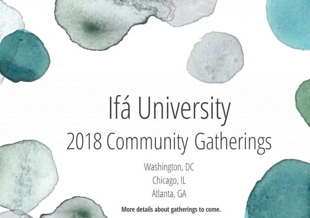 2018 Community Gatherings